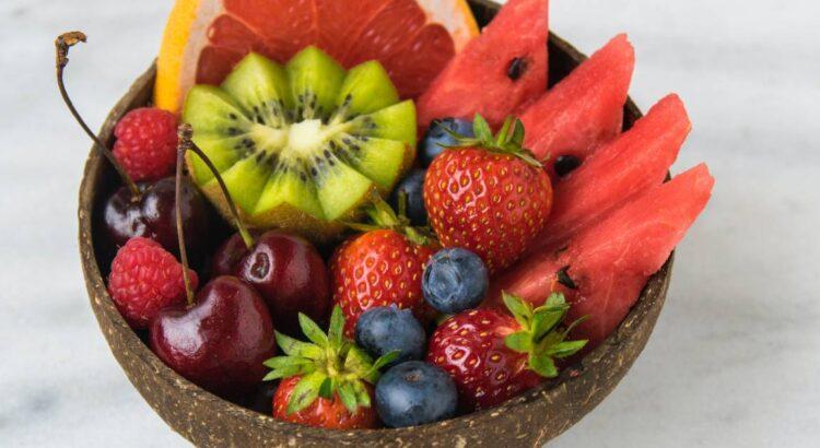 cestino con la frutta